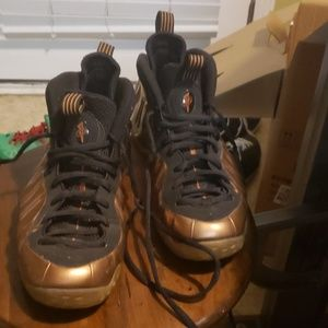 Copper Nike foamposite sz 11 used